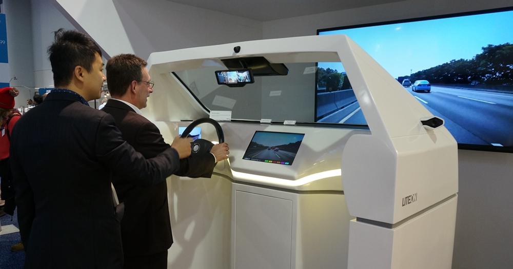 光寶科技在 CES 展出可讀懂駕駛喜怒哀樂的汽車攝影鏡頭