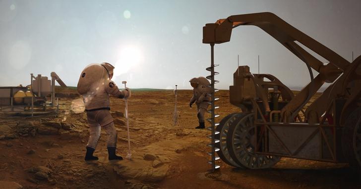 NASA:火星有巨大冰層 可造出足夠人類使用的水