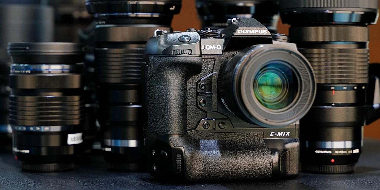 突破M4/3極限!Olympus OM-D E-M1X正式發表:7.5級防震、內建ND、手持高解像、連拍60fps