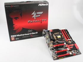 Asrock Fatal1ty Z68 Professional Gen3 評測:PCI-E 3.0 Ready
