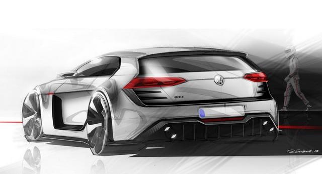 VW推出超級 Golf GTI概念車「Design Vision GTI」 !馬力接近 500匹