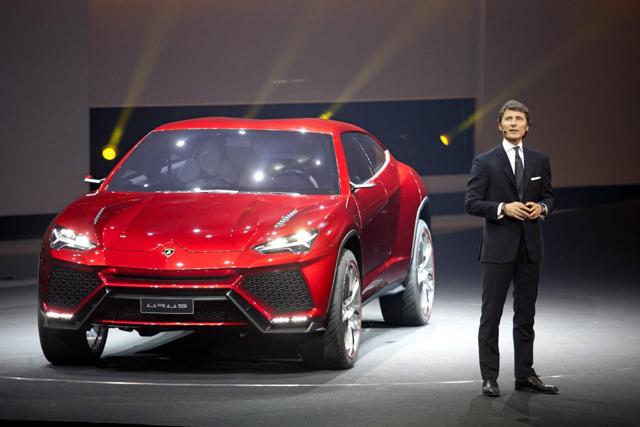 Lamborghini Urus性能休旅將於2017年發表