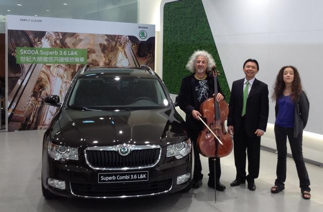 Skoda與大提琴大師米夏麥斯基歡慶 65歲生日音樂會