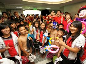 Canon與蘭嶼孩子相見歡  於企業總部共度歡樂時光
