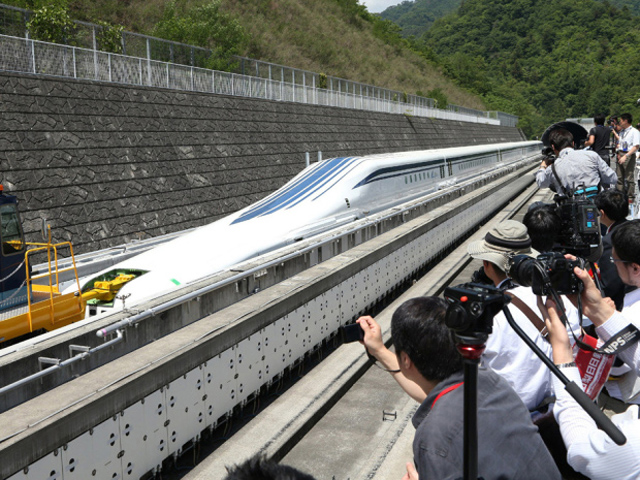 日本測試最新高速磁浮列車,近500km/h時速可秒殺台灣高鐵!