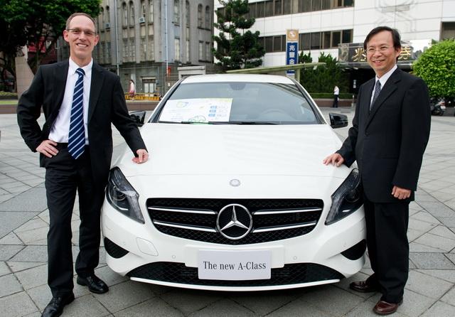 樹立環保典範!環保署表揚 Mercedes-Benz減碳成效斐然