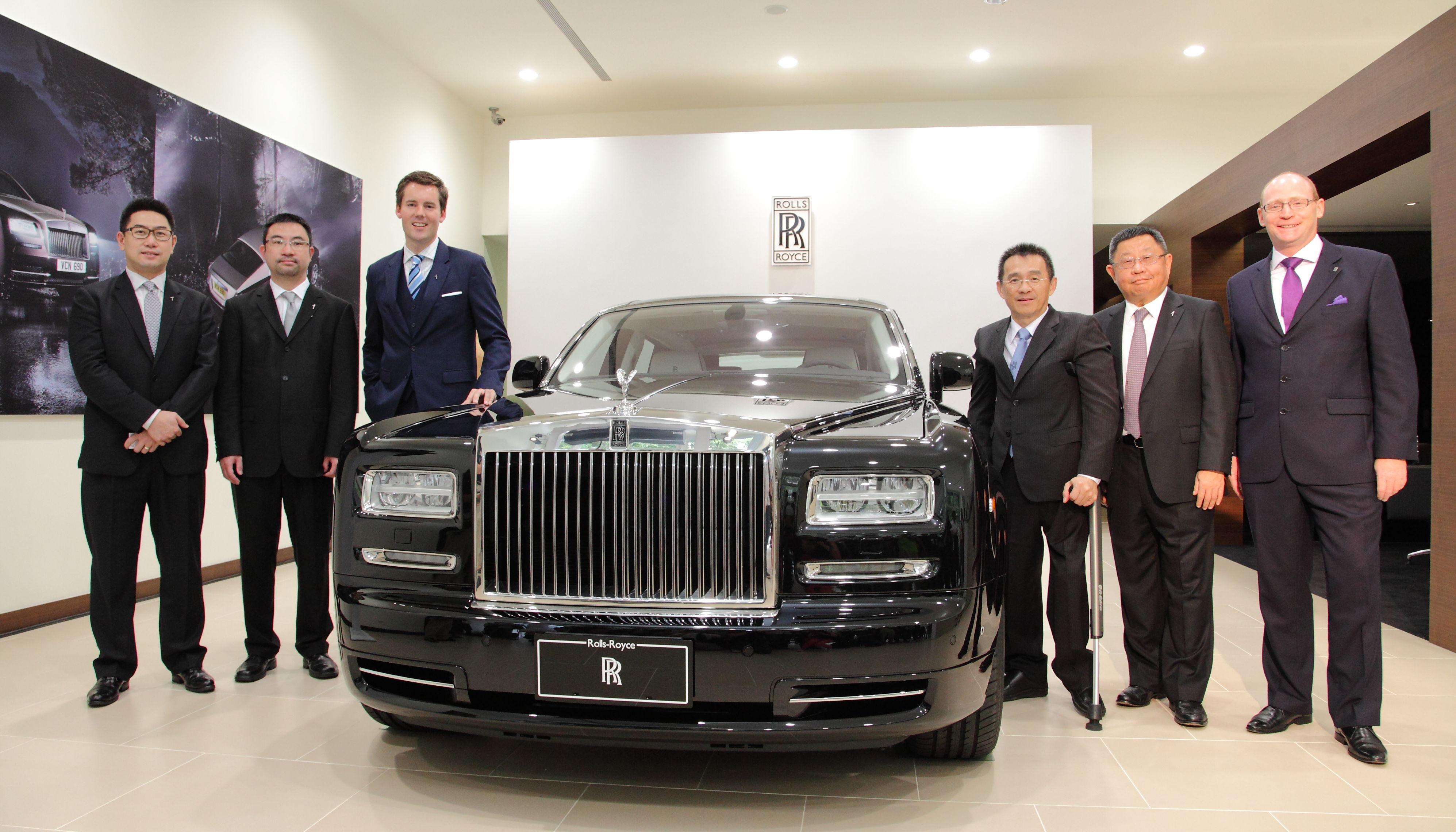 Rolls-Royce台中展示中心正式開幕營運