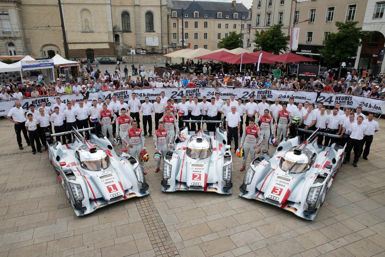Audi R18 e-tron鎖定第12座利曼24小時耐久賽冠軍頭銜!