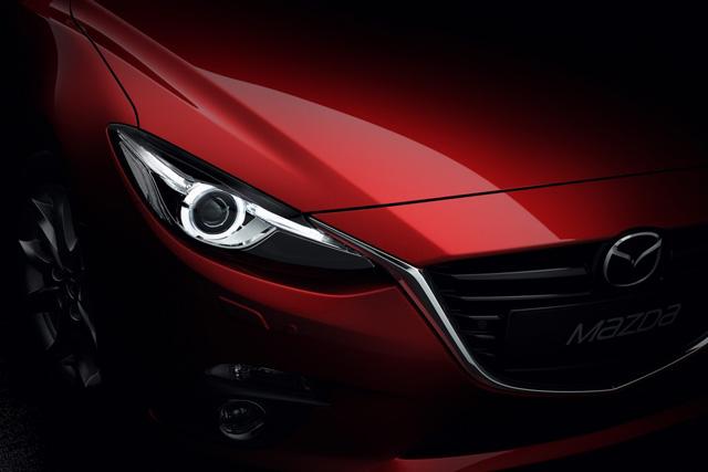 2014 Mazda3五門掀背正式發佈!媲美 MOD的高清影片與高畫質圖片一次看個夠
