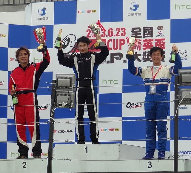 Gama Racing Team林帛亨勇摘O.T.G.P全國菁英盃第二站冠軍