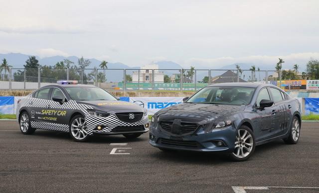 Mazda6擔任賽道前導車!預告SKYACTIV進化動力與 i-ACTIVSENSE安全系統上身