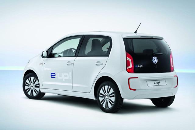 中了大樂透我就要買 VW e-up! 電動車!售價也只比燃油車貴 2.5倍而已(沒中就...)