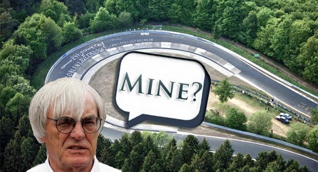 F1老闆 Bernie Ecclestone可能會買下紐柏林綠色地獄?快買吧,我一定會去消費的!