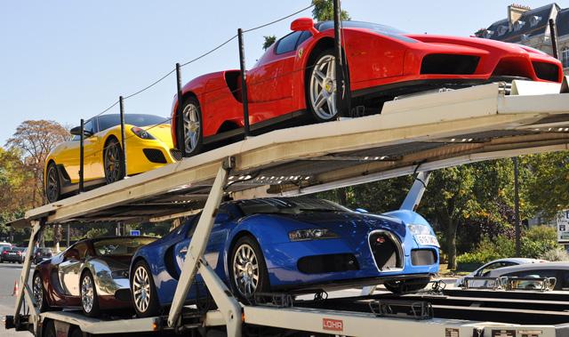 2部Veyron+Enzo+ Carrera GT等11輛頂級超跑只賣1.2億?!出現機率跟中威力彩差不多渺茫