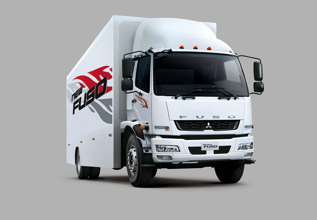 新世代New FUSO 11~17噸車型帥勁登場