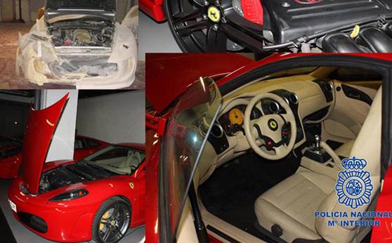 西班牙警方突擊法拉利超跑仿冒工廠,沒收17輛偽裝成 Ferrari F430的 Toyota!