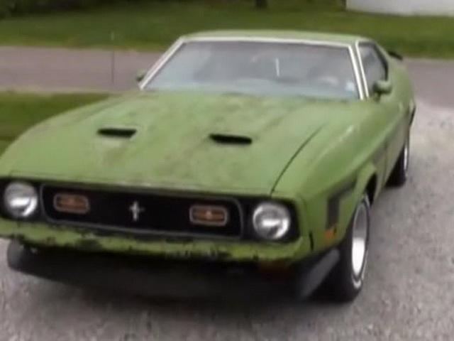 註定就是她!美國車主 Rick Lookebill在 24年後找回人生的第一部車 - Ford Mustang MACH 1