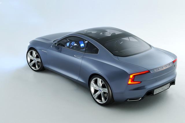 Volvo Concept Coupe雙門概念跑車,預告全新Drive-E汽油引擎和Hybrid動力系統