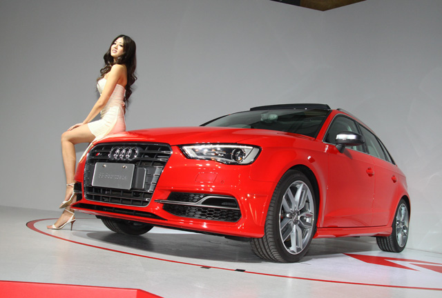 Audi A3 Sportback霹靂嬌娃–賴琳恩篇,殺人於無形之中的性感眼神!