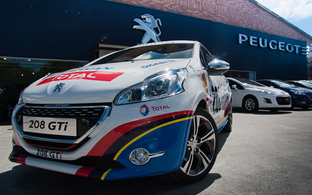 208 GTi Nurburgring 24小時耐久賽台灣仕樣版全台巡迴外展活動式開跑