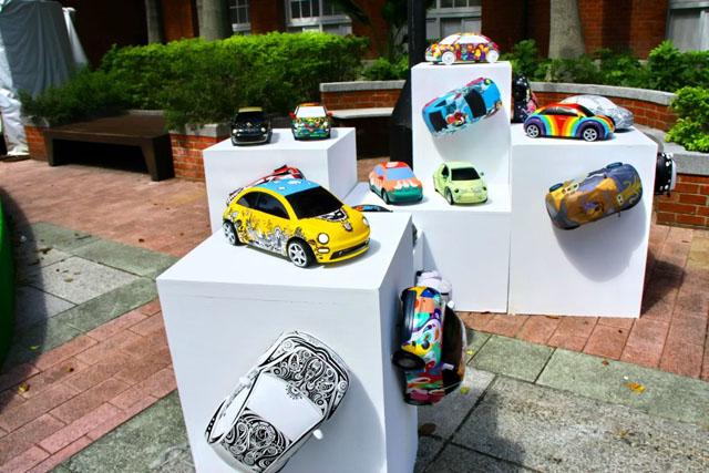 Volkswagen The New Beetle彩繪得獎車即日起典藏於台北當代藝術館