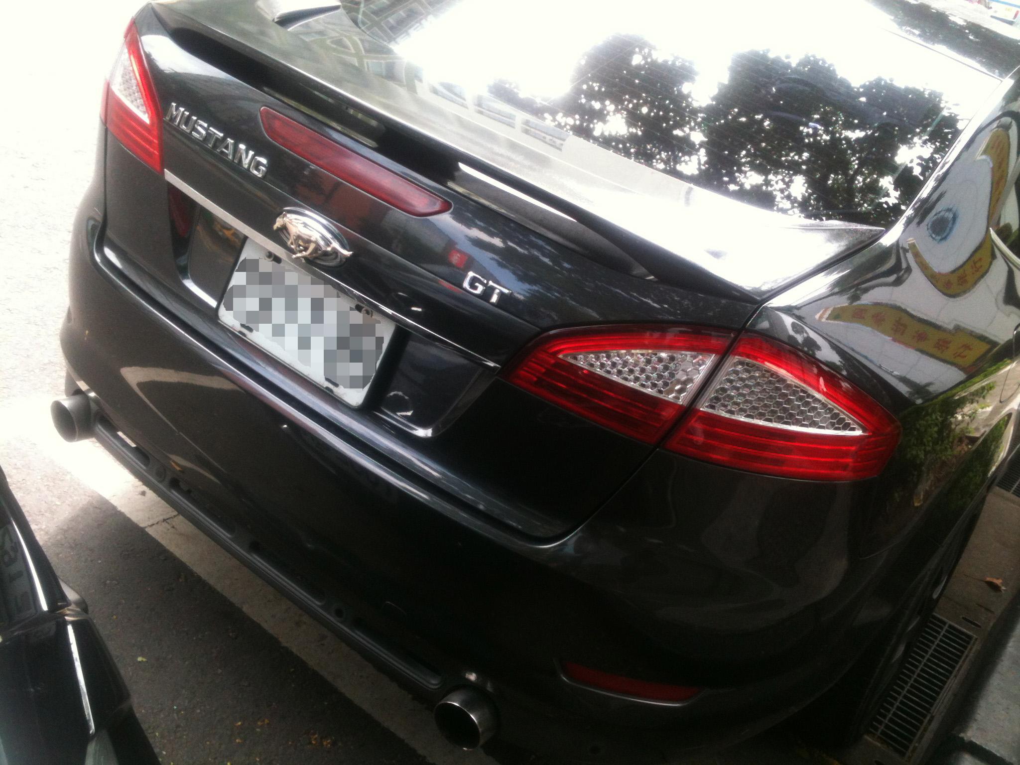 台北街頭驚見2015 Ford Mustang GT測試車?!