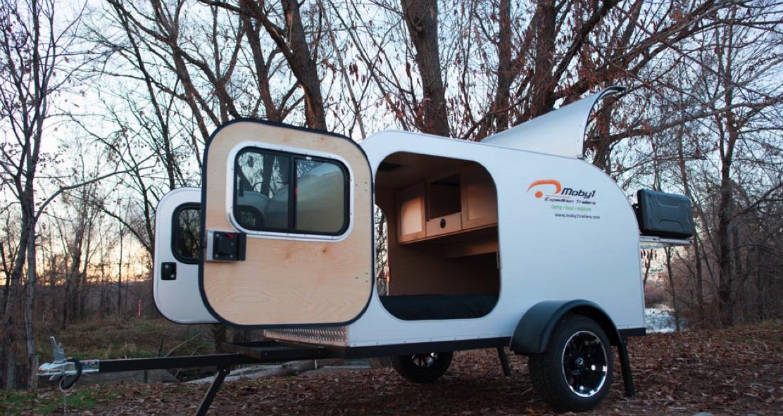 適合輕度旅行的 Moby1 C2重機露營拖車,連民宿的錢都省了!