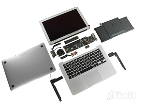 2011 MacBook Air 13,ifixit 拆給你看