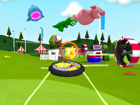 iPhone 小遊戲 Frisbee® Forever,操控造型飛盤闖關