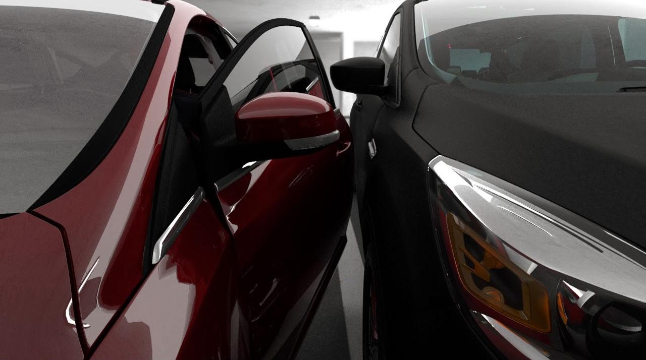 Ford超強自動停車系統,人先下車再停進去,車位再擠也不怕!