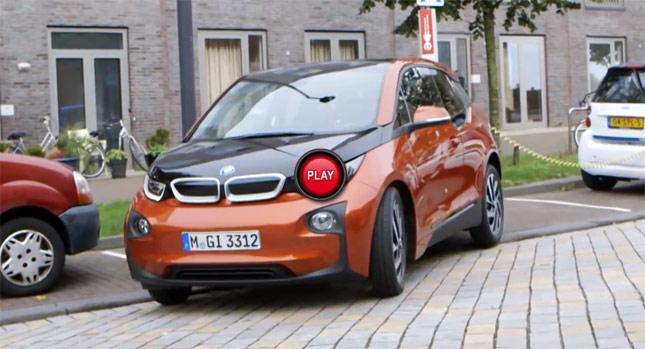 BMW i3電動車荷蘭阿姆斯特丹試駕影片報導,幾乎沒在踩煞車的