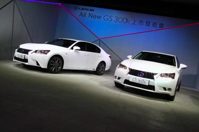 LEXUS GS車系再添生力軍,GS 300h高級 Hybrid轎車209萬起上市