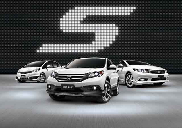 Honda S-Series限定版特仕車 CR-V. CIVIC 以及 FIT同時上市,免費升級價值最高達七萬元!