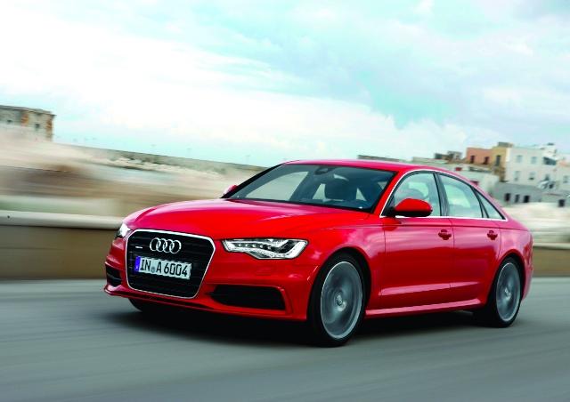 Audi A3、A5和A6共同獲得最佳滿意度排名首位殊榮