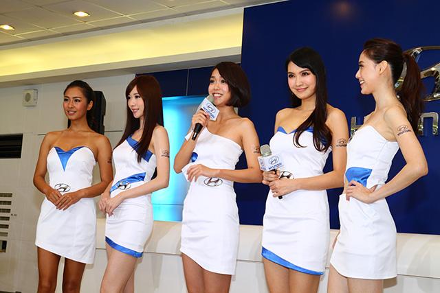【2014台北車展預報】HYUNDAI 五位車展名模定裝亮相!
