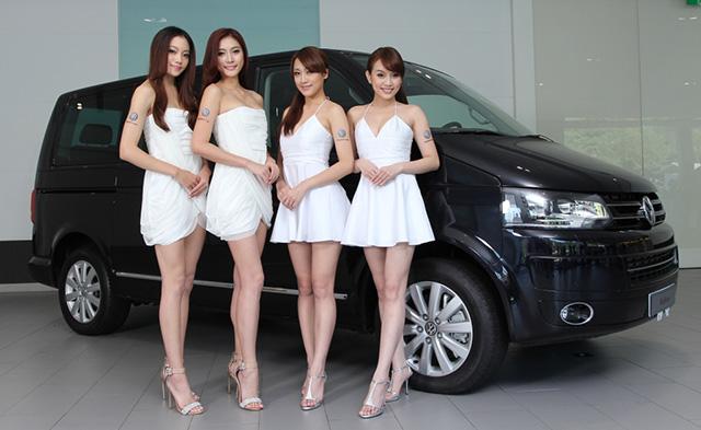 【2014台北車展預報】福斯商旅車展Model 陣容亮相