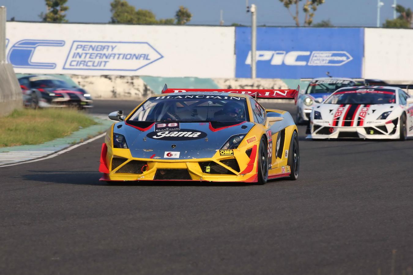 蠻牛 Lamborghini Gallardo衝進2013 Asian Le Mans 延續Super Trofeo Asia成功氣焰!