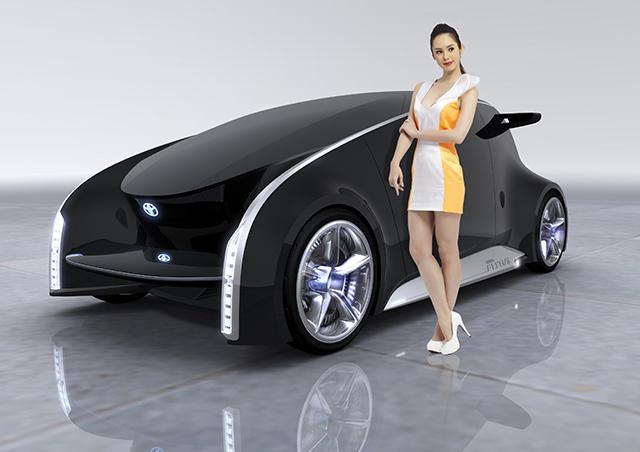 【2014台北車展預報】TOYOTA將展出新款概念車,並請來空手道黑帶混血模特兒Shoko站台!