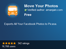 Move Your Photos 擴充套件,輕鬆把 FB 照片搬到 Google+