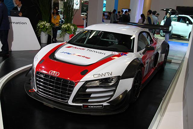 【2014台北車展】Audi展出車款介紹,S/RS高性能軍團與 R8 LMS Cup Car工廠賽車熱血現身!