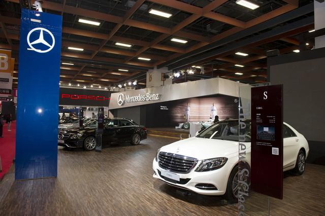 【2014台北車展】Mercedes-Benz 國際車展視野:重金打造豪華性能氛圍、全場展區最大、Model最多!