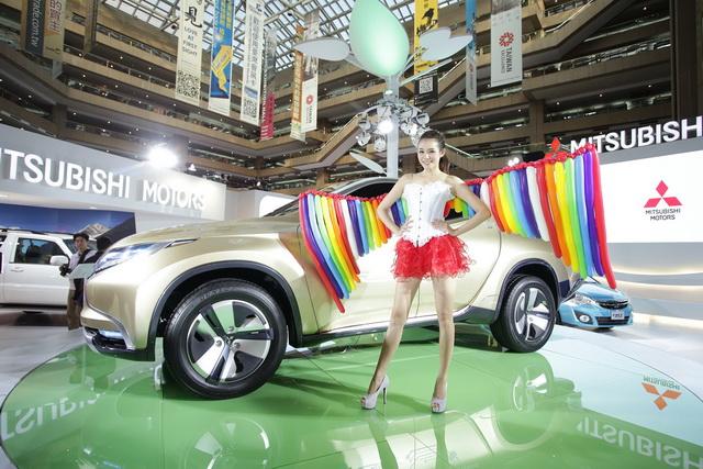 【2014台北車展】MITSUBISHI迎接2014年 :OUTLANDER全新上市