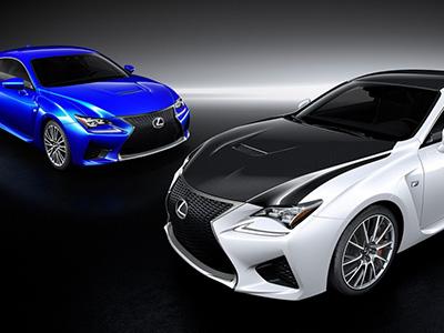 Lexus RC F雙門跑車的碳纖維套件跟它的半數位儀表一樣殺!