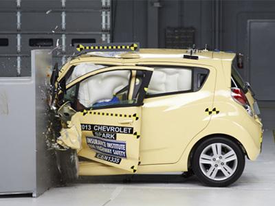 11輛迷你車正面偏位小區撞擊結果出爐,日系車款成績淒慘!