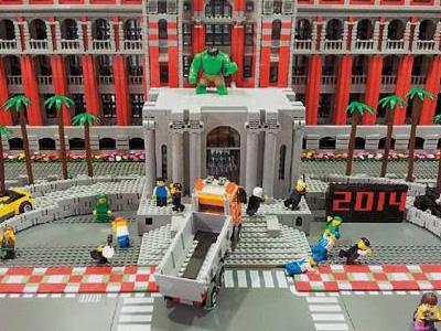 【熱門話題】LEGO樂高這樣玩就對了!還原砂石車衝撞總統府案發畫面!