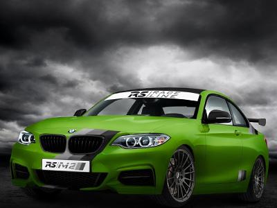 綠色地獄版 BMW M235i賽道機器,RS-Racingteam改裝廠挑戰紐伯林的新武器?