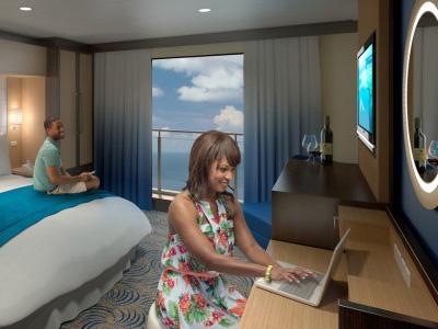 皇家遊輪出新招,80吋HD螢幕為你展現無敵海景!