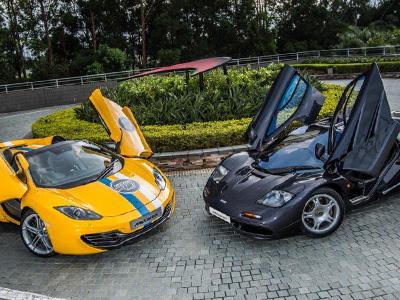 【熱門話題】McLaren 12C超跑香港車聚,前輩 McLaren F1助陣!