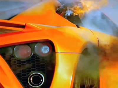 Top Gear把 Zenvo千匹馬力超跑操到火燒車,賽道記錄比 Ford Focus ST還慢!