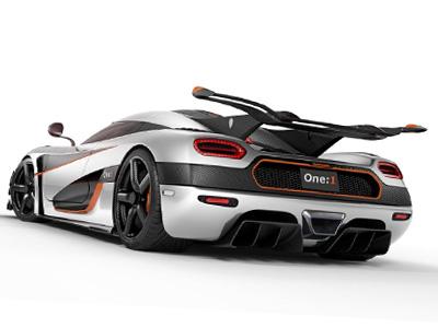 Bugatti Veyron請讓開,1,300匹馬力的 Koenigsegg One:1無敵超跑要來擊敗你了!